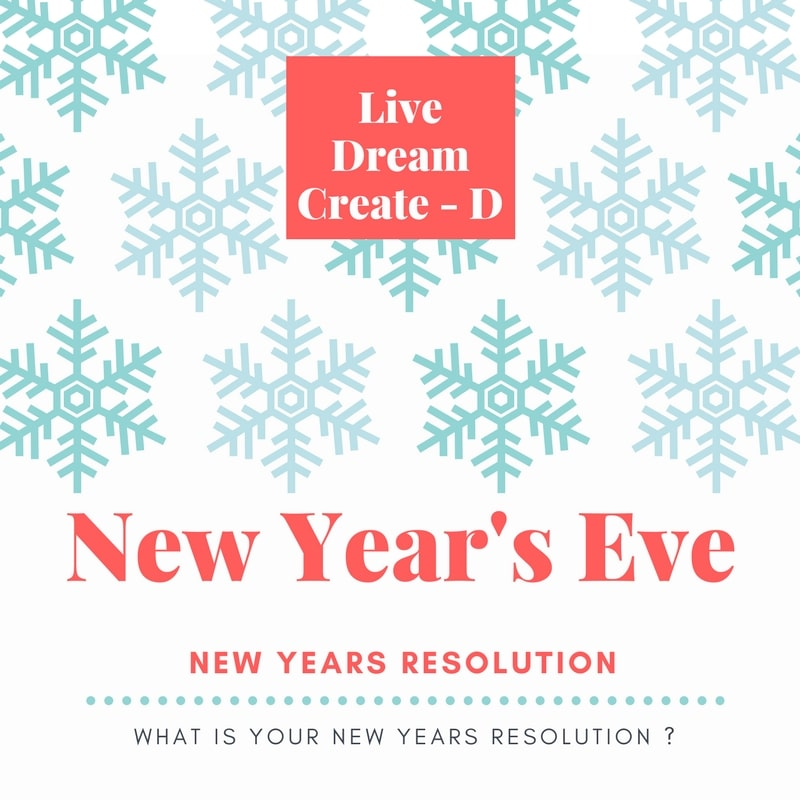 New Year's Eve – gifts, resolutions and more! 2018