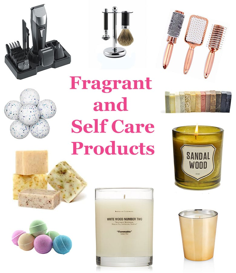 fragrance and self care products