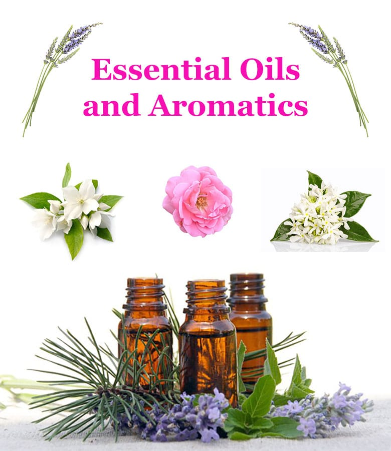 ssential oils and aromatics