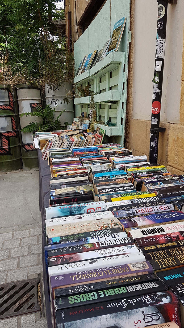 THE BOOK BAZAAR IN NICOSIA