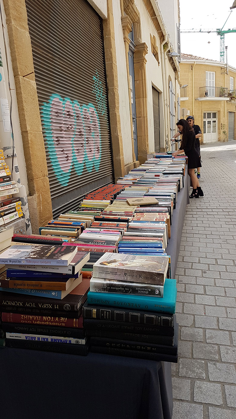 BOOK BAZAAR IN NICOSIA