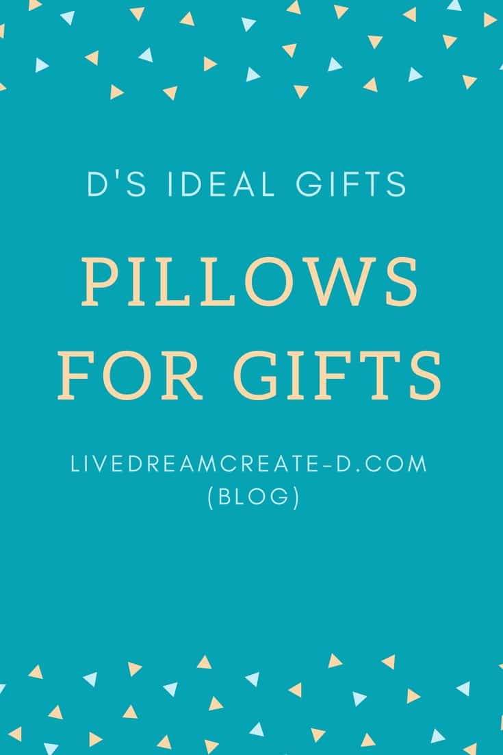 Handmade Pillows by D's Ideal Gifts
