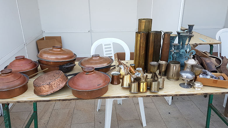 TRADITIONAL CYPRIOT COPPER ITEMS