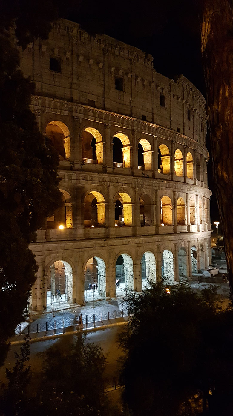 COLLOSEUM BY NIGHT