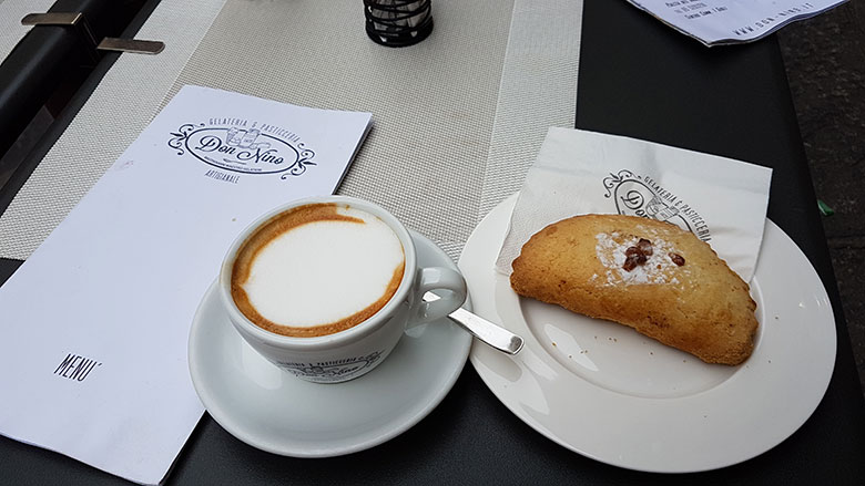 BEST CUPPUCCINO IS IN ITALY