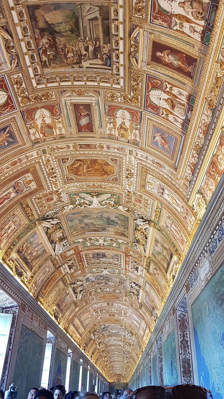 VATICAN CITY - PAINTINGS