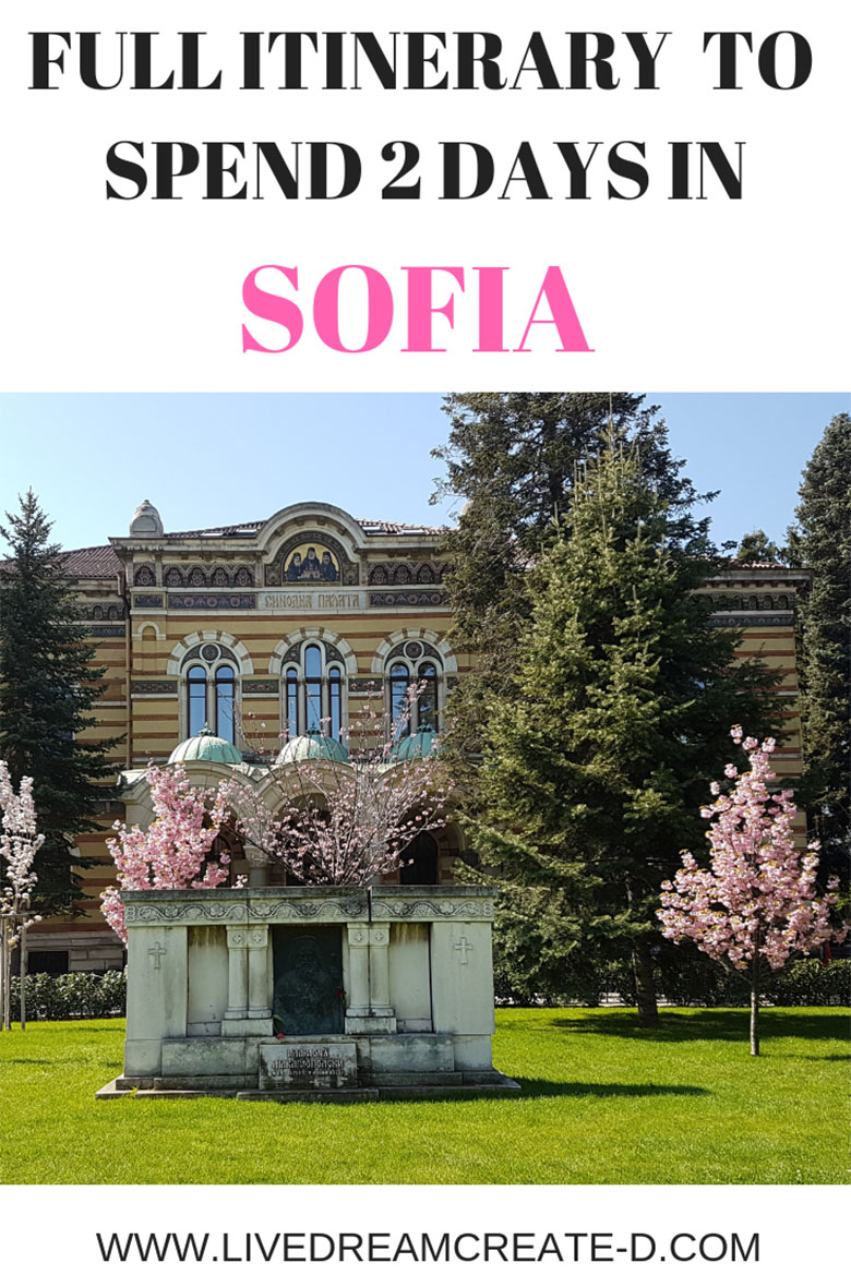 SPEND 2 DAYS IN SOFIA