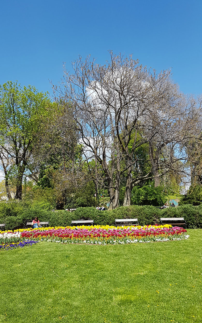 GARDENS IN SOFIA CITY