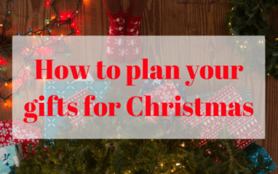 How to plan your gifts for Christmas