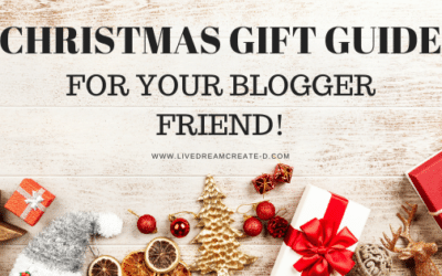 Christmas gift guide for your blogger friend