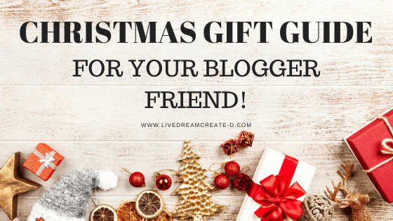 Gift guide for your blogger friend