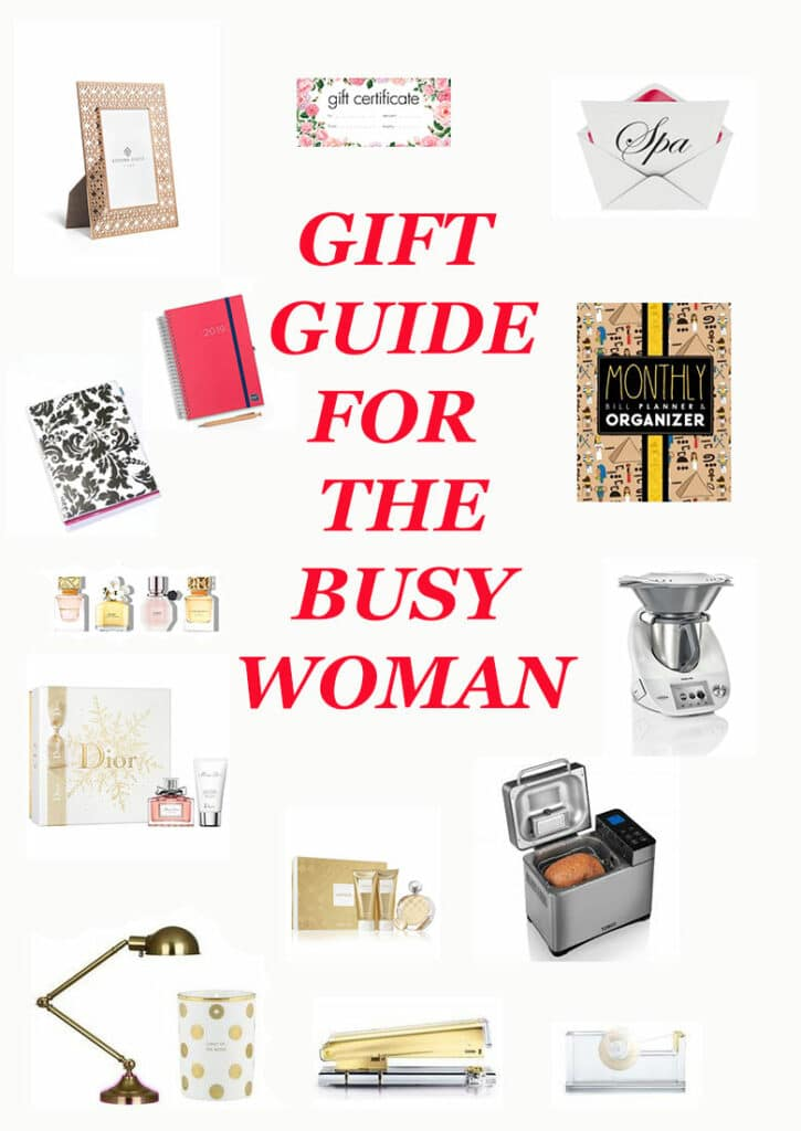Gift guide for the busy woman