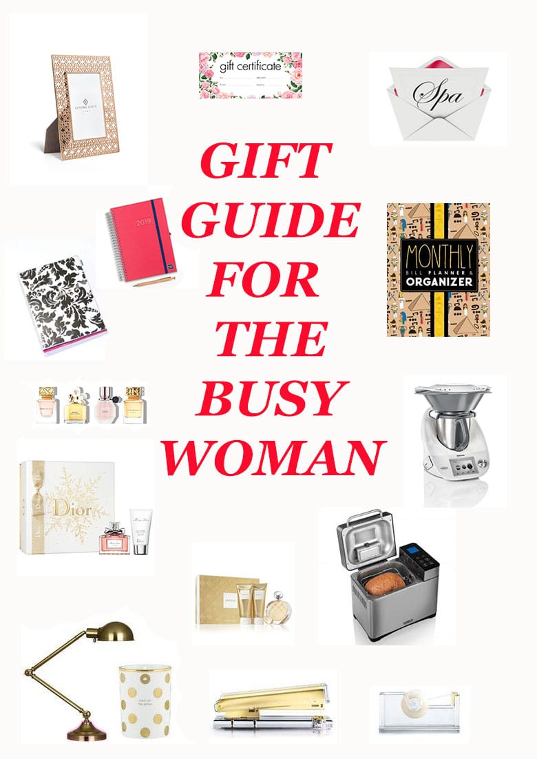 Gift guide fo rthe busy woman
