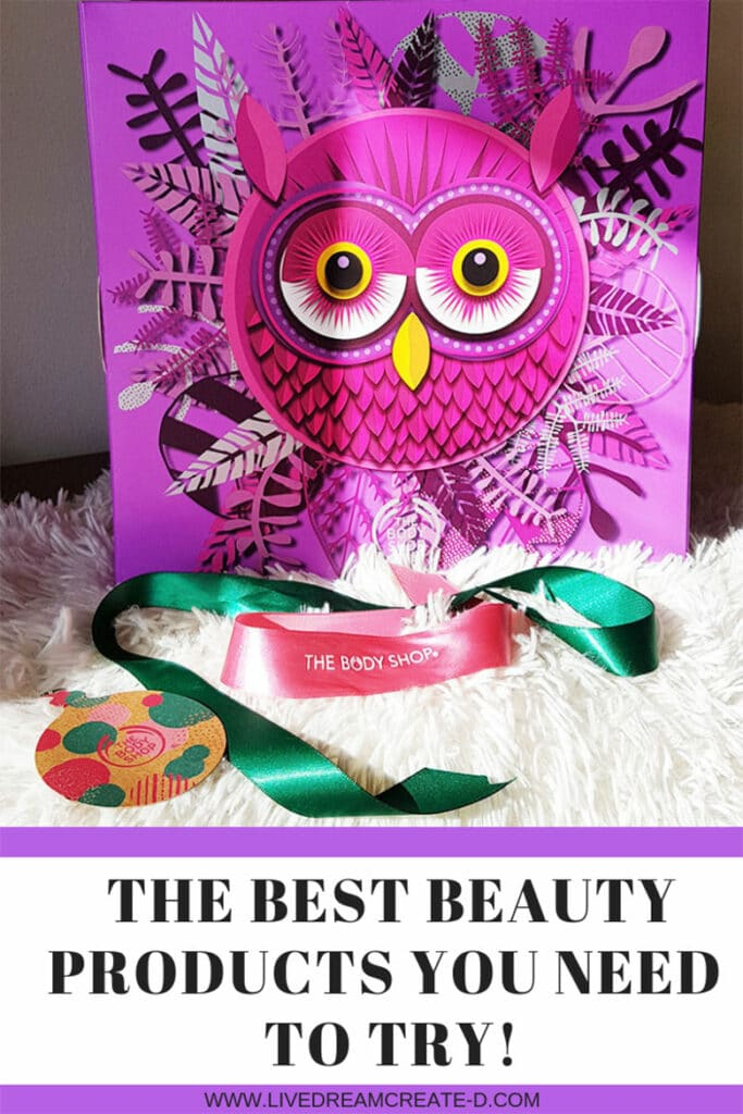 BEAUTY PRODUCTS THE BODY SHOP