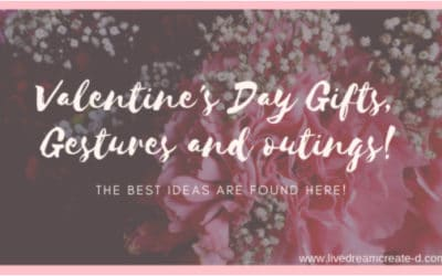 Valentines Day Gifts gestures and outing ideas
