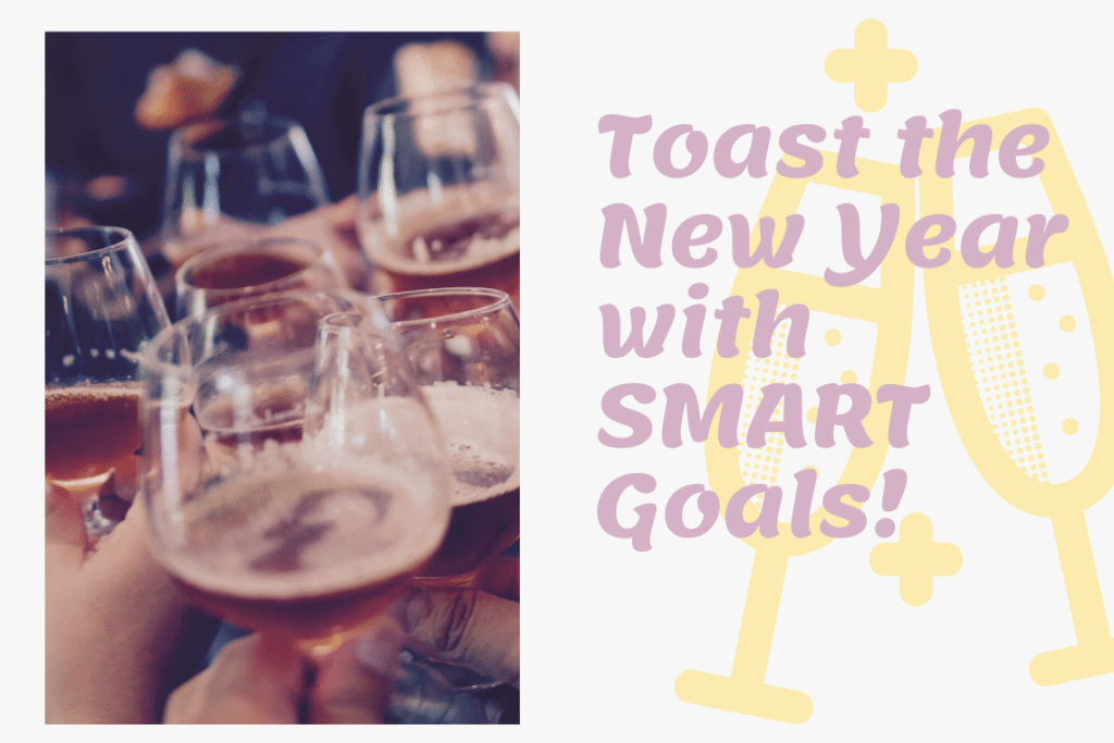Setting goals and not resolutions!
