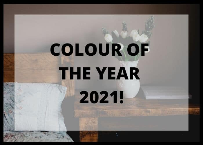 PAINT COLOUR OF THE YEAR 2021!